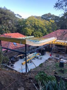 Lane Cove Architectural Additions and Alterations – Site progress